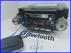1978-1987 GM Cassette Radio With Bluetooth & Aux Chevy Truck Pontiac AM FM Stereo