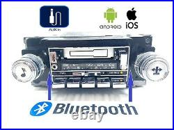 1978-1987 GM Chevy Cassette AM FM Stereo Radio Refurbished With Bluetooth & Aux