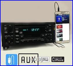 87-00 Chrysler Jeep Oem Cassette CD Player Radio Equalizer Dodge Aux Input