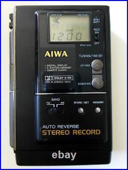 AIWA HS-J202 High End Kassettenradiorecorder, Riemen neu, überholt, wie Walkman