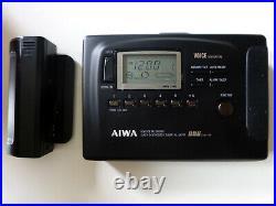 AIWA HS-JX707 High End Kassettenplayer, Riemen neu, überholt, wie Walkman-TOP