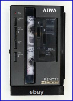 AIWA HS-PX101 High End Kassettenplayer, Riemen neu, überholt, wie Walkman- DSL