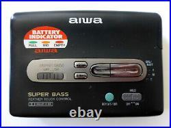 AIWA HS-PX347 wie Walkman, Riemen neu, komplett überholt mit Dolby und S. Bass