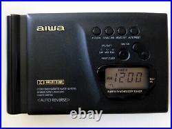 AIWA HS-RX703 Soft Touch Kassettenplayer, Riemen neu, überholt, Walkman m. Radio