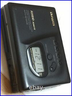 Aiwa Hs-rx610 Lastest High-end Excellent Walkman Radio Cassette Player Working