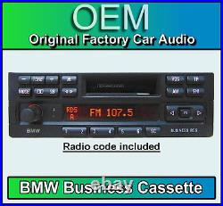 BMW Z3 Cassette player, BMW Business radio car stereo head unit, with radio code