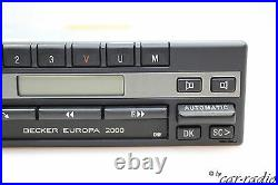 Becker Europa 2000 BE1100 Kassettenradio Mercedes R107 Radio C107 SL-Klasse DIN