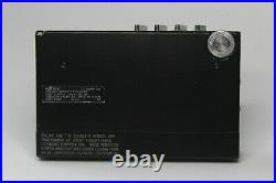 Black Sony Walkman WM-30 Pristine, Refurbished and Working Perfectly WM-20