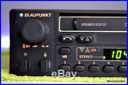 Blaupunkt Bremen SQR32 Radio player Porsche 911 924 944 928 Ferrari Mercedes BMW
