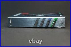 Blue Sony Walkman WM-30 almost pristine, Refurbished and Working Perfectly WM-20