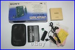 Boxed Complete Sony Walkman WM-DX100 refurbished & working WM-DD9, WM-DD100
