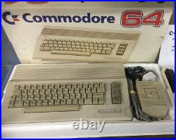 Boxed Recapped Commodore 64 Computer + Datasette Cassette Player
