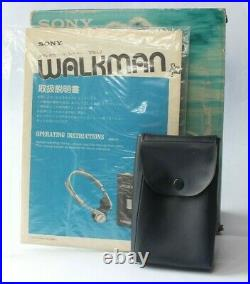 Boxed Sony Walkman TPS-L2 & MDR3 Headphones Serviced New Belts Plays Perfectly