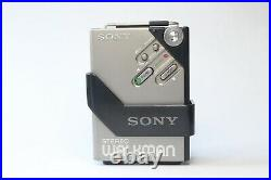 Boxed Sony Walkman WM-2, MDR4 Headphones & Access Serviced & Working Perfectly