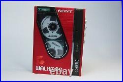 Boxed Sony Walkman WM-30 & 1985 Catalog Refurbished and working perfectly WM-20