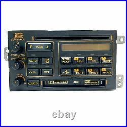 C4 Corvette Bose Gold Orange Radio Cassette CD Player Model 90-91 Refurbished