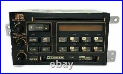 C4 Corvette Bose Gold Orange Radio Cassette CD Player Model 92-93 Refurbished