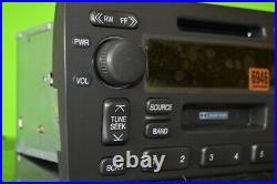 Cadillac Deville Seville factory MINIDISC cassette player radio 98-02 16266946