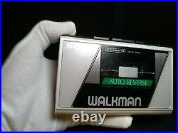 Excellent Condition Sony Walkman WM-28 Classic Super Rare, New Belt, White