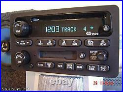 GM Chevy Radio Receiver AM FM Stereo CD PLAYER Tape Cassette Deck 15295372 OEM