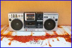 Hitachi TRK W1 boombox. Cassette player/walkman/radio combo