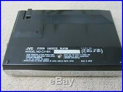 JVC CX-5K Stereo Cassete Player JAPAN