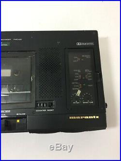 Marantz PMD420 Stereo Cassette Recorder