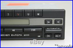 Mercedes Autoradio Becker Europa 2000 BE1100 Oldtimer Youngtimer Kassettenradio