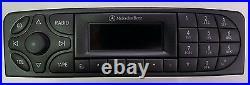 Mercedes Benz C/CLK 2001-2004 CM1010 radio with Bluetooth Streaming 203 820 2486