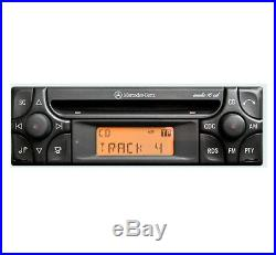 Mercedes SLK Audio 10 CD player, Merc R170 car stereo + radio code and keys