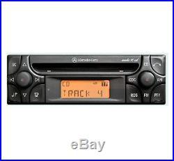 Mercedes SL Audio 10 CD player, Merc R129 car stereo + radio code and keys