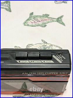 NORDMENDE HiFi Clipper PL-100 Walkman Stereo Radio Cassette Player. Clean