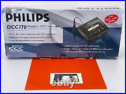 NOS In Box Philips DCC 170 Portable Digital Compact Cassette