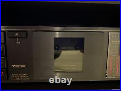 Nakamichi BX-125 Cassette Deck Player Gear Driven Version Made In Japan