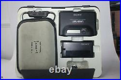 New in it's Box Sony Walkman WM-F702 Serviced with New Belt and working 100%