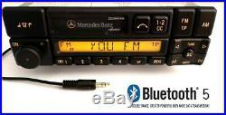 Original Mercedes-Benz Becker BE1150 Bluetooth 5.0 +AUX-IN Kode Karte