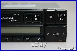 Original Mercedes Classic BE2010 CC W126 Autoradio S-Klasse C126 Kassettenradio