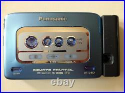 Panasonic RQ-SX52 wie Walkman, Riemen neu, komplett überholt, X-Bass und Dolby