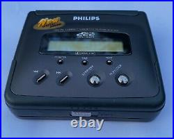 Philips DCC134 Digital Compact Cassette, restored! With 16850 battery
