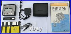 Philips DCC175 Portable Digital Compact Cassette with DCC link cable