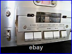 Pioneer CT-F1000 3 Head Cassette Deck Player Recorder with Rack Handles Serviced