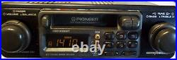 Pioneer KEH-2929 Old School Shaft Style AM/FM/Cassette Car Stereo Tested