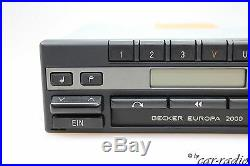 Porsche Radio Becker Europa 2000 BE1100 Kassette Oldtimer Youngtimer Autoradio