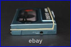 Pristine Blue Sony Walkman WM-20 Serviced with New Belt and Working Perfectly