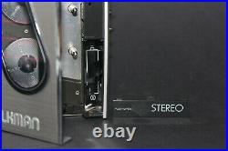 Pristine Sony Walkman WM-30 Refurbished with new belt and Working Perfectly