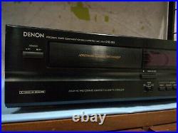 RARO! Denon Drs-610 Cassette Deck Player SERVICED VINTAGE STEREO HIFI