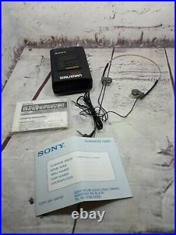REFURBISHED Retro Sony Walkman WM-BF57 Dolby B NR Personal Stereo with radio