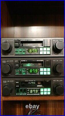 REPAIR Old Rare Vintage Alpine Kenwood Pioneer car stereo from 70s, 80s, 90s