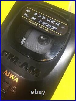 Rare Aiwa HS-T10 Super Bass Stereo Radio Cassette Player, FM/AM REFURBISHED