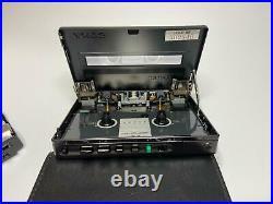 Rare SONY WALKMAN WM-150 -RESTORED- Personal Cassette Player Mint Condition